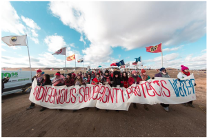 protest at Standing rock